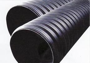 聚乙烯(PE)塑钢缠绕排水管