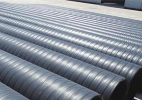 立筋式中空壁钢塑复合缠绕管