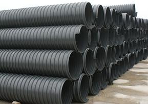 聚乙烯钢带增强螺旋纹波纹管