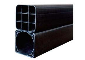 铜仁磷石膏高强度塑合金方形管